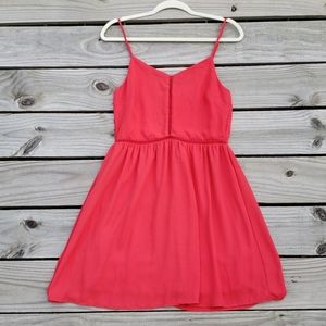 Everly Red Summer Dress (Medium)